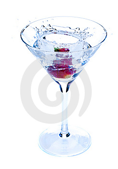 Drink With Strawberry Stock Images - Image: 14798174