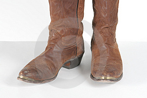 Brown Cowboy Boots Stock Photos - Image: 1481463