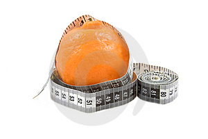 Orange With Tape Royalty Free Stock Images - Image: 1484419