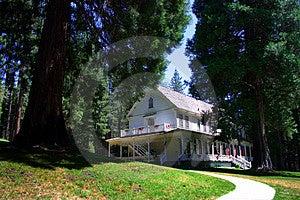 Historic Wawona Hotel, Yosemite National Park Stock Images - Image: 1486494