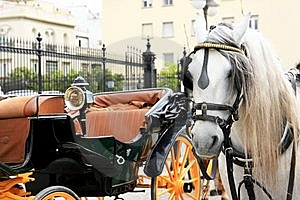 Cart And Horse, Spain Royalty Free Stock Photos - Image: 14801128