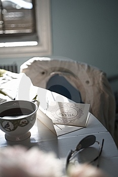 Thank You Note Royalty Free Stock Photography - Image: 14801587