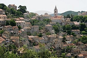 Croatian Village Royalty Free Stock Image - Image: 14803136