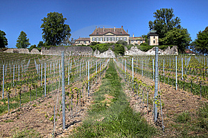 Chateau De Vullierens, Switzerland Stock Image - Image: 14804431