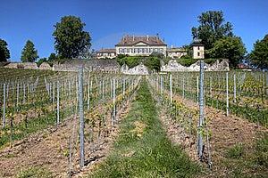 Chateau De Vullierens, Switzerland Stock Image - Image: 14804431