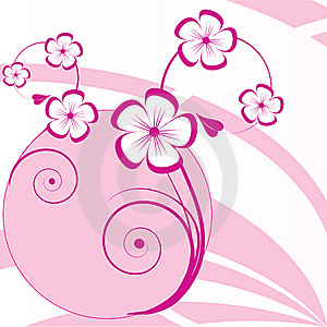 Abstract  Floral Background Royalty Free Stock Photography - Image: 14804947