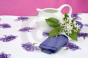 Romantic Breakfast 2 Royalty Free Stock Image - Image: 14806836