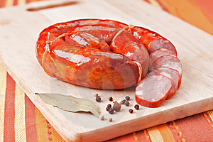 Sausage Royalty Free Stock Photos - Image: 14807558