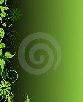 Emerald Elegance Plant Frame Stock Image - Image: 14809781