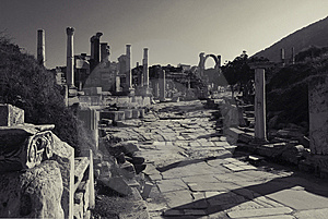Ruins Of Ephesus, Turkey Royalty Free Stock Photo - Image: 14810005
