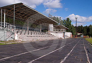 Small Stadium With Stands Stock Image - Image: 14815331