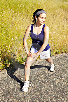 Woman Exercising Stock Photography - Image: 14815552
