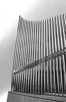 Organ Pipes Vertical Royalty Free Stock Photo - Image: 14815915