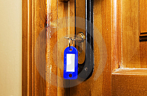 Key In The Lock Royalty Free Stock Images - Image: 14816159