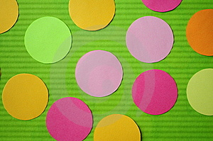 Paper Lines And Circles. Royalty Free Stock Photography - Image: 14834977