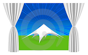 Large White Tent Stock Images - Image: 14835694
