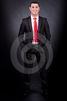 Full Length Of Magician Royalty Free Stock Image - Image: 14835746
