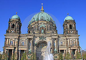 Berliner Dom Royalty Free Stock Image - Image: 14839776
