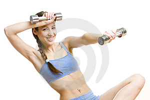 Exercising Woman Stock Photo - Image: 14839980