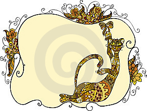 Cat And Bow Royalty Free Stock Images - Image: 14842539