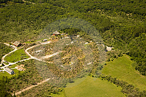 Tornado Damage Stock Image - Image: 14844991