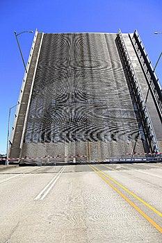 Raised Bridge, Portland Oregon. Stock Photography - Image: 14846302