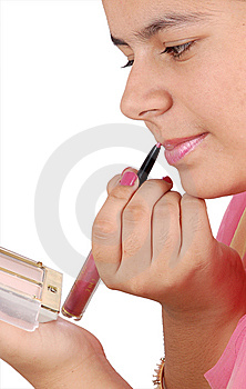 Lip Liner Royalty Free Stock Photos - Image: 14846558