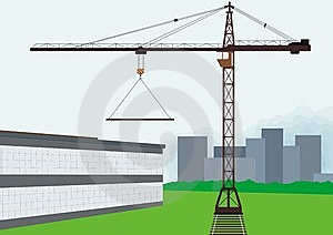 Tower Crane Stock Image - Image: 14846801
