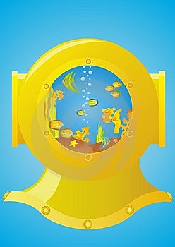 Helmet Diver Royalty Free Stock Photo - Image: 14846845
