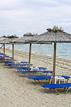 Beach Bench Stock Photo - Image: 14850380