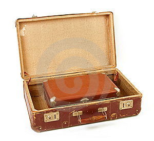 Two Old Suitcases Royalty Free Stock Photography - Image: 14851127