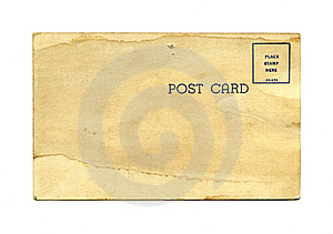 Antique Postcard Stock Photos - Image: 14851553