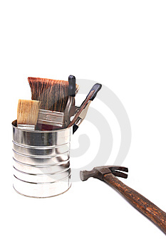 Paint Can Stock Image - Image: 14852451