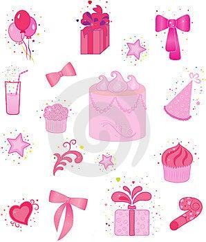 Celebration Icons Stock Photography - Image: 14852462