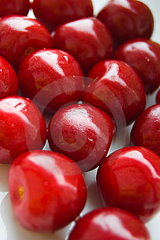 Ripen Red Cherries Royalty Free Stock Photo - Image: 14854235