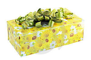 Gift Wrapped Royalty Free Stock Photo - Image: 14854645