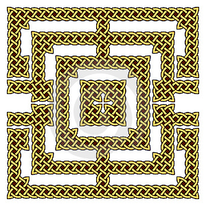 Celtic Knot Border Royalty Free Stock Photo - Image: 14857035