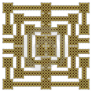 Celtic Knot Border Royalty Free Stock Images - Image: 14857179