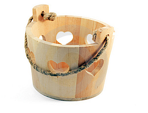 Bucket For The Sauna Set Royalty Free Stock Photo - Image: 14857945
