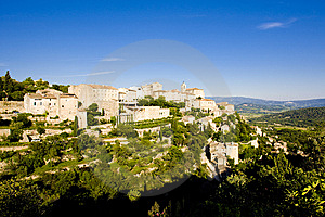 Village Of Gordes Stock Photos - Image: 14858653