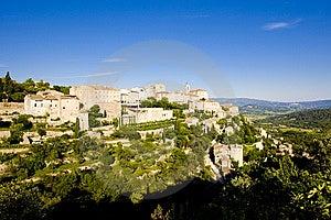 Village Of Gordes Stock Photos - Image: 14858653