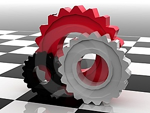 Gears Concept Stock Image - Image: 14860801