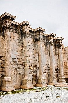 Hadrian's Library Stock Image - Image: 14861921