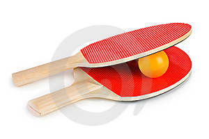 Tennis Racket And Ball Stock Image - Image: 14864071