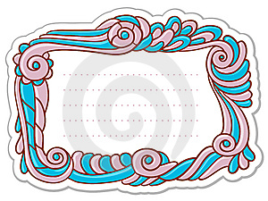 Old-fashioned Frame Royalty Free Stock Photos - Image: 14865168