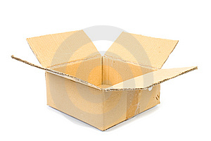 Cardboard Box Royalty Free Stock Photos - Image: 14865448