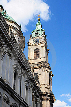 Tower Clock In Prague Stock Photography - Image: 14865852