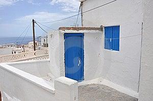 Greek House Stock Photo - Image: 14866830
