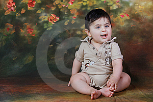 Baby Smiling Royalty Free Stock Photos - Image: 14871538