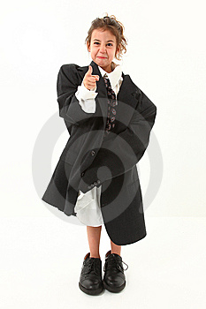 Angry Girl In Suit Stock Photos - Image: 14873443